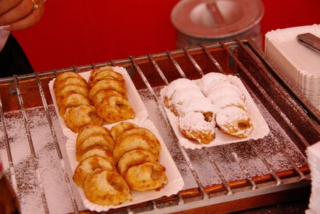 traditionally dutch: Poffertjes are a traditional Dutch batter treat,