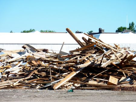 junkyard: Un mont�n de chatarra en un dep�sito de chatarra