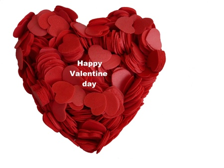 A heart full of red hearts for Valentine day Stock Photo - 8746521