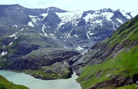grossglockner: The Grossglockner glacier in the Austrian Alps