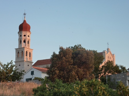 The church of Betina at Murter in Croatia photo