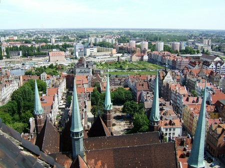 A view at Gdansk in Poland photo