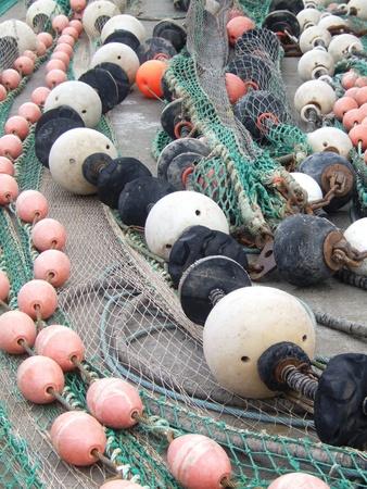 floaters: Floaters and fishermen nets