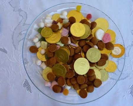 Snoepjes op Sinterklaas een typische Nederlandse viering