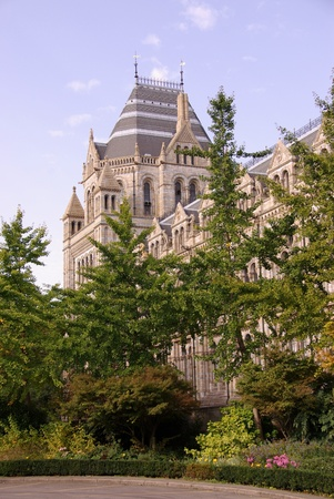The historic waterhouse building in Kensington in London  accommodating the natural history museum photo