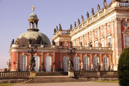 New palace in the sanssouci royal park in Potsdam in Germany Stock Photo - 12327281
