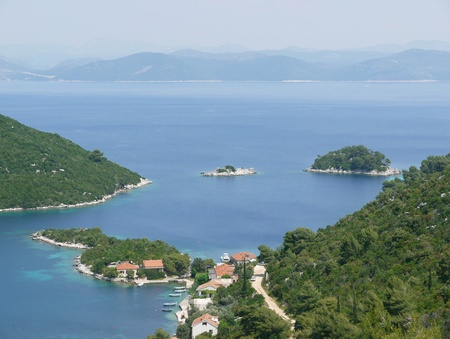 The bay of Prozura on the island Mljet in Croatia Stock Photo - 12327214