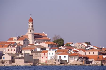 The village Betina at Murter in Croatia Stock Photo - 12367408