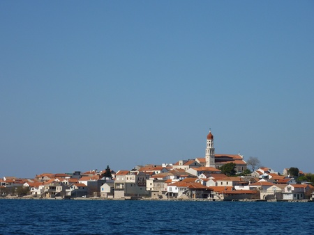 The village Betina on the island Murter in Croatia Stock Photo - 12585238
