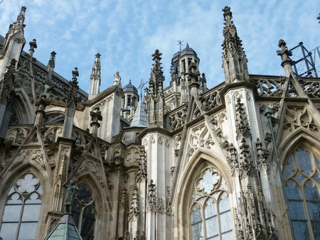 noord brabant: The Saint John cathedral in Den Bosch in the Netherlands Stock Photo