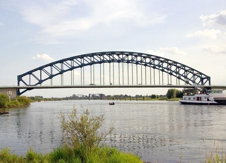 ijssel: The bridge over the river IJssel in Zwolle in the Netherlands