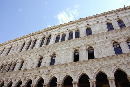 vecchie: The procuratie Vecchio in Venice in Italy