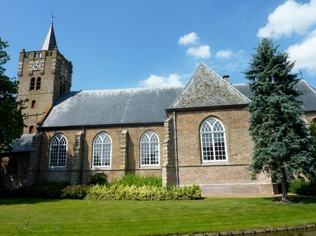 The church of Nieuwe Tonge in the Netherlands photo