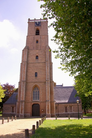 flakkee: The church of Middelharnis in the Netherlands