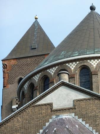 noord brabant: Saint Jacobs church in s-Hertogenbosch in the Netherlands Stock Photo