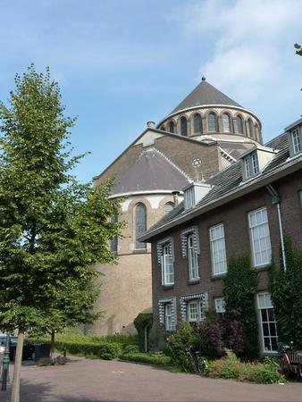 noord brabant: Jheronimus Bosch  art center in the Saint Jacobs church in s-Hertogenbosch in the Netherlands Stock Photo