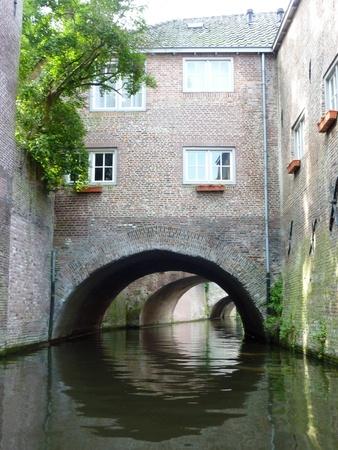 noord brabant: The river Binnendieze in s-Hertogenbosch in the Netherlands