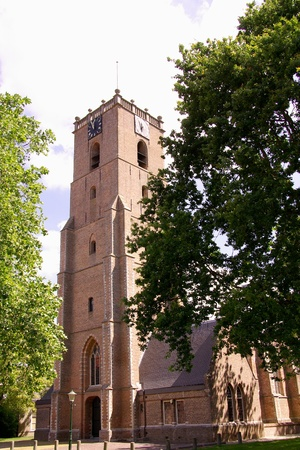 The church in the center of Middelharnis in the Netherlands Stock Photo - 12506309