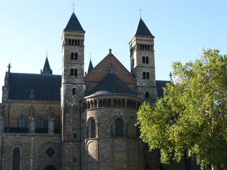 Basilica Saint Servatius in Maastricht in the Netherlands