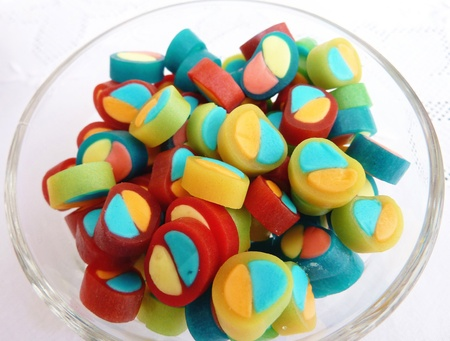 An assortment of liquorice candies photo