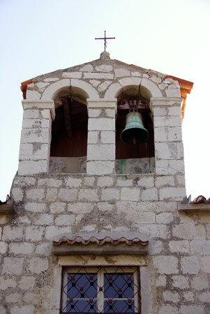 One of the churches in Rab town on the island Rab in Croatia photo