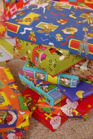Cadeau van Sinterklaas een typische Nederlandse viering