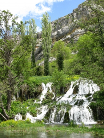 The roski slap waterfalls in the Krka national park in Croatia Stock Photo - 14476349