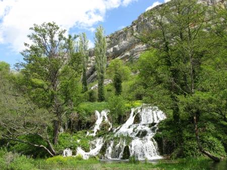 The roski slap waterfalls in the Krka national park in Croatia photo