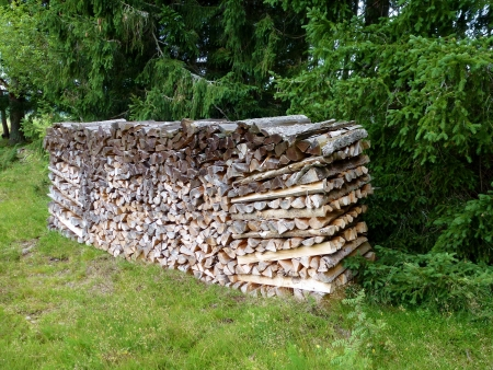 Wood for the fire place Stock Photo - 14680359