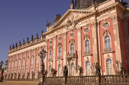 New palace in the sanssouci royal park in Potsdam in Germany
