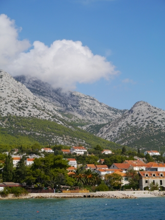 View on Orebic on the peninsula Peljesac in Croatia Stock Photo - 16257902