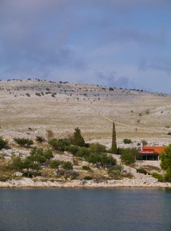 kornati national park: The island Kornat in the Kornati national park in Croatia