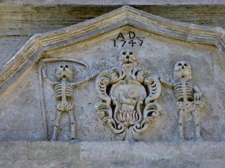 A detail of the church of the purgatory of Matera in Basilicata in Italy photo