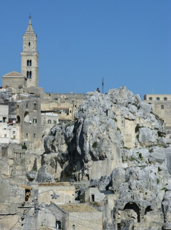 The Madonna de Idris rock church in Matera in Basilicata in the south of Italy Stock Photo - 16257948