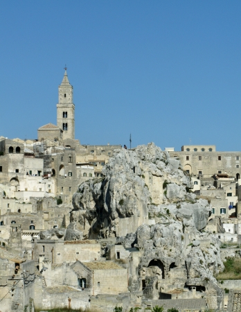 The Madonna de Idris rock church in Matera in Basilicata in the south of Italy Stock Photo - 16257946