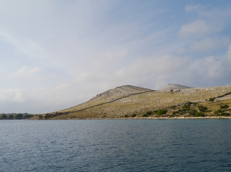 The island Kornat in the Kornati national park in Croatia photo