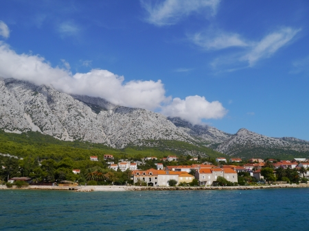 View on Orebic on the peninsula Peljesac in Croatia Stock Photo - 16258038