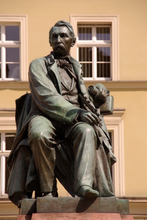 fredo: A statue of Alexander Fredo in Wroclaw in Poland