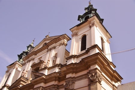 The st Anne church in Krakow in Poland Stock Photo - 16693865