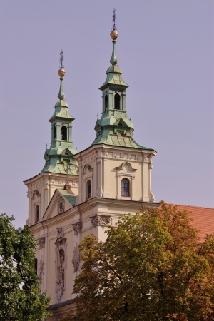 The church of st Florian in Krakow in Poland photo