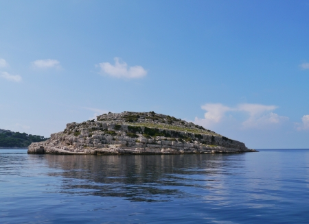 kornat: The Kornati islands in the Adriatic sea of Croatia
