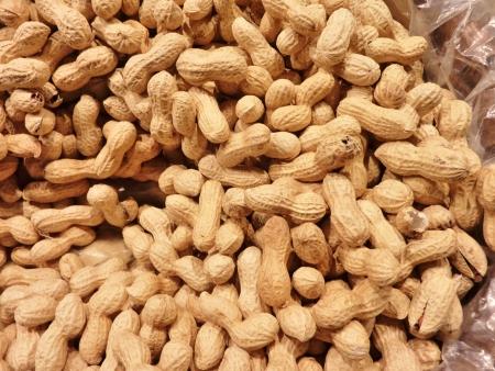 earthnuts: Peanuts in a shell