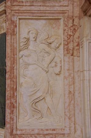 oratoria: El Oratorio de San Bernardino en Perugia en la Toscana en Italia