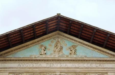 The Oratory of san Bernardino in Perugia in Tuscany in Italy Stock Photo - 17075242