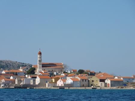 betina: The Croatian village Betina at the island Murter in the Adriatic sea in Croatia
