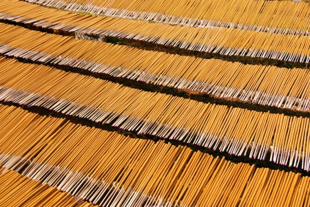 Drying incense sticks in Vietnam Stock Photo - 17266927