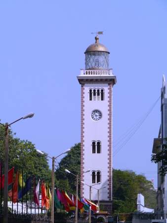 The lighthouse of Colombo on the island Sri Lanka Stock Photo - 17698908