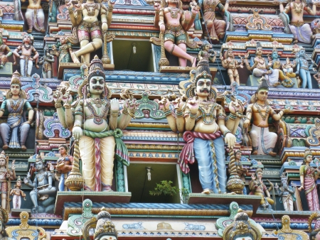Sri Kailawasanathar Swami Devasthanam the oldest hindu temple of Colombo the capital of Sri Lanka Stock Photo - 17698938