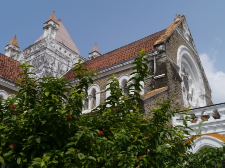 galle: All saints Anglican church in Galle in Sri Lanka
