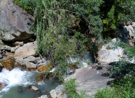The Kirindi river near Ella in Sri Lanka photo